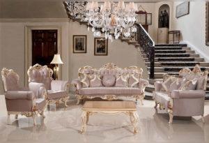 бароков диван
